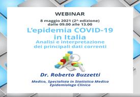 Course Image L'epidemia Covid-19 in Italia. Analisi e interpretazione dei principali dati correnti